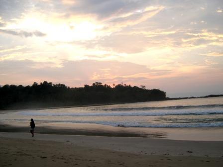 One quiet morning in laguna pari