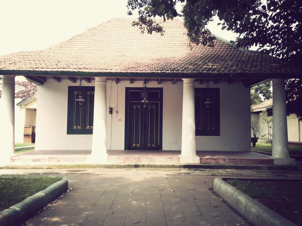 Paviliun yang menjadi lokasi Sekolah Kartini di Rembang
