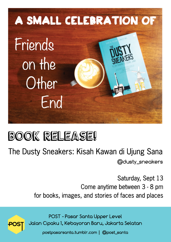 The Dusty Sneakers book release