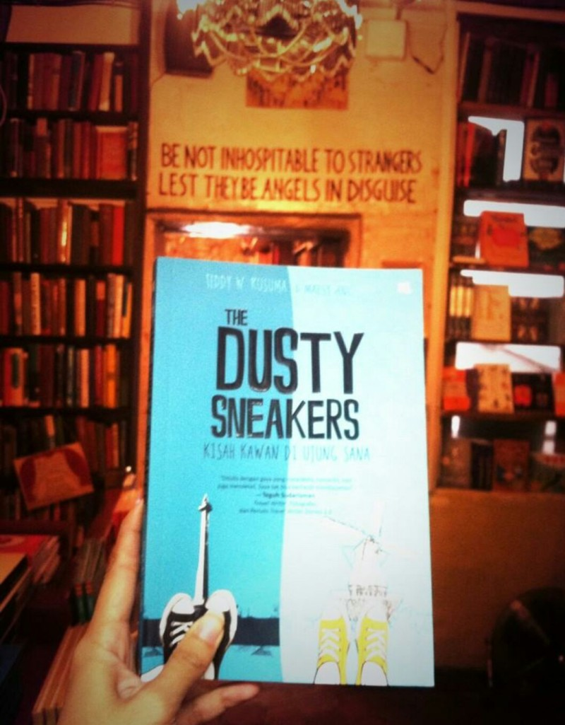 The Dusty Sneakers book_Shakespeare and Co
