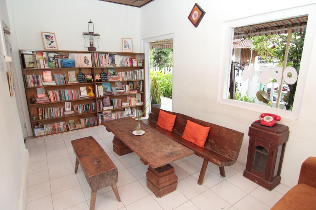 LIR's library and reading room