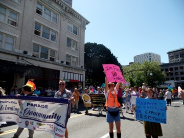 Portland Pride Fest 2015